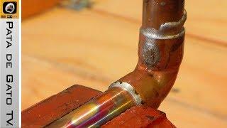 Soldando Tubería de Cobre / Soldering Copper Pipes
