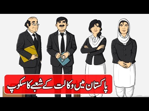 Scope of Lawyers in Pakistan - Career in Law and Judiciary in Pakistan - Ali Noor Bloch