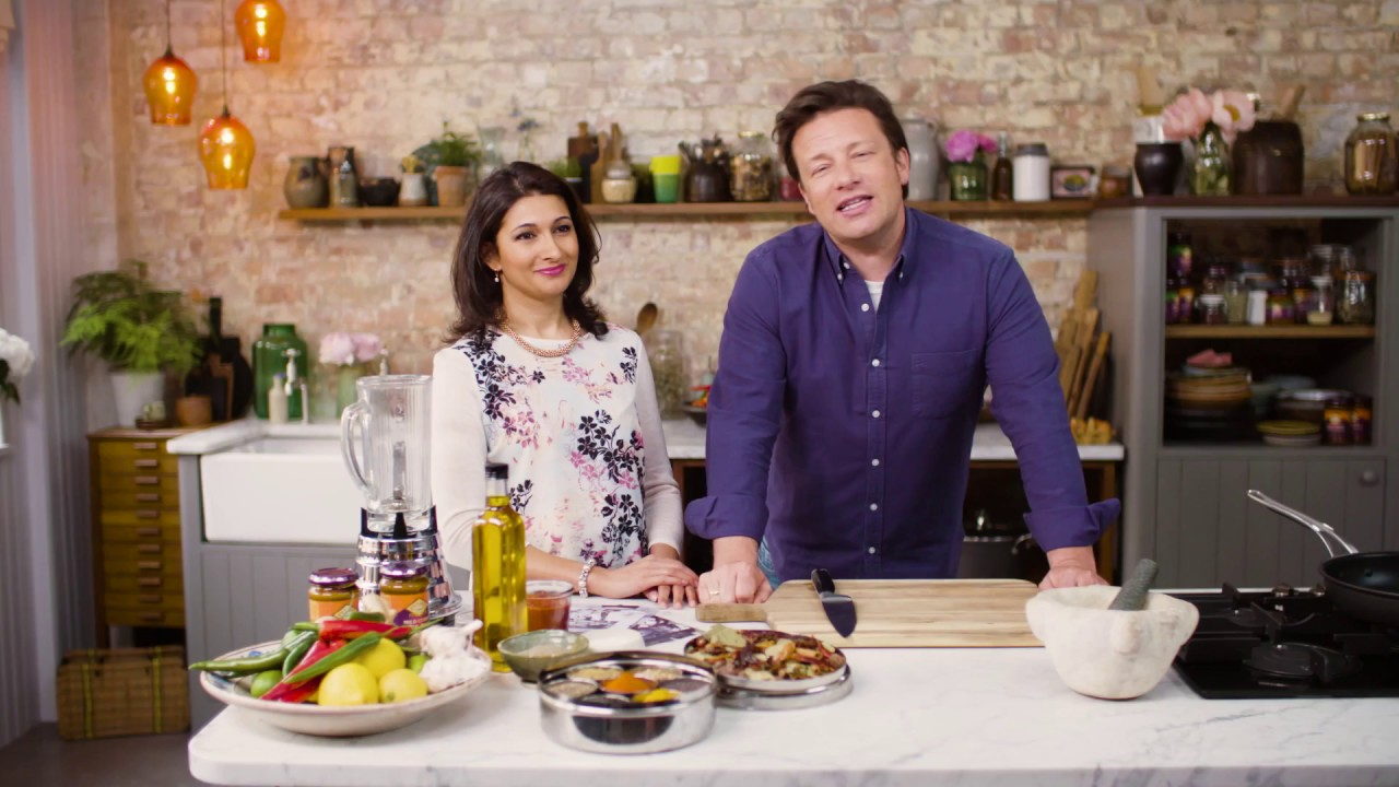 Pataks History With Jamie Oliver And Anjali Pathak
