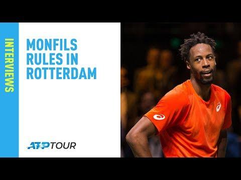 Monfils Discusses Wawrinka Final Win in Rotterdam 2019