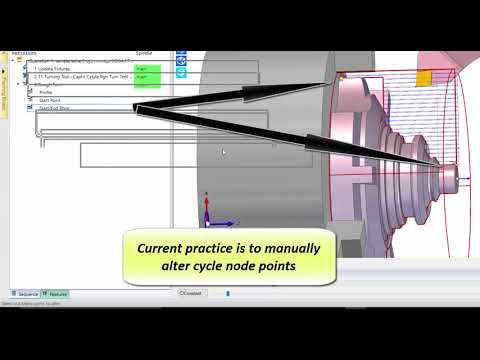 Rough Turn Cycle - Collision Check | Edgecam 2018 R1