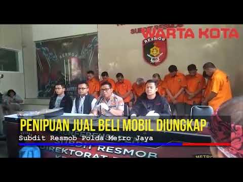 Penipuan Dan Penggelapan Jual Beli Mobil Diungkap Polda Metro Jaya