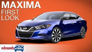 2016 Nissan Maxima First Look | New York Auto Show