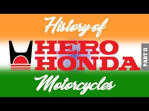 The History of Hero Honda Motorcycles! (Part II)