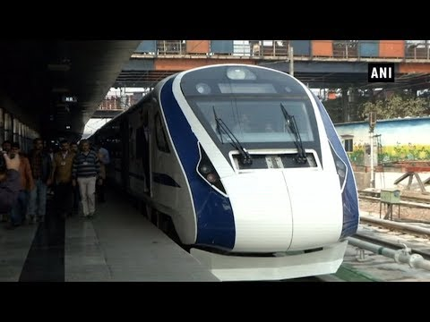Train 18: PM Modi to flag off India's first engine-less train Mp3