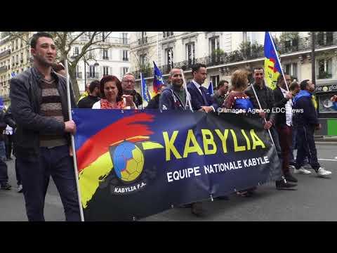 Marche pour l'indépendance de la Kabylie - Paris/France - 15 Avril 2018