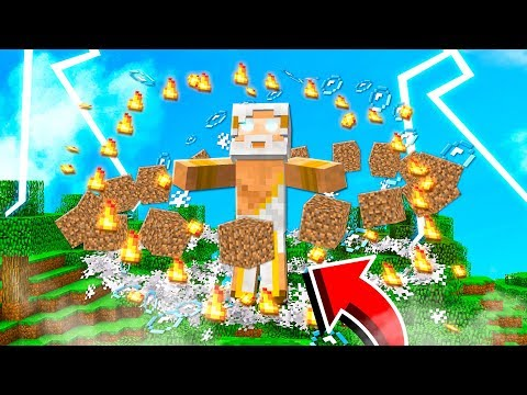 BENDING WATER, EARTH, FIRE & AIR IN MINECRAFT!