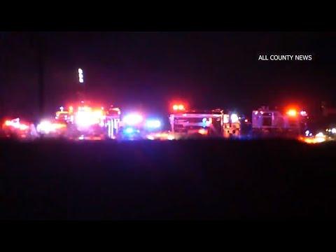 Colonia Car Crash - Garden State Parkway