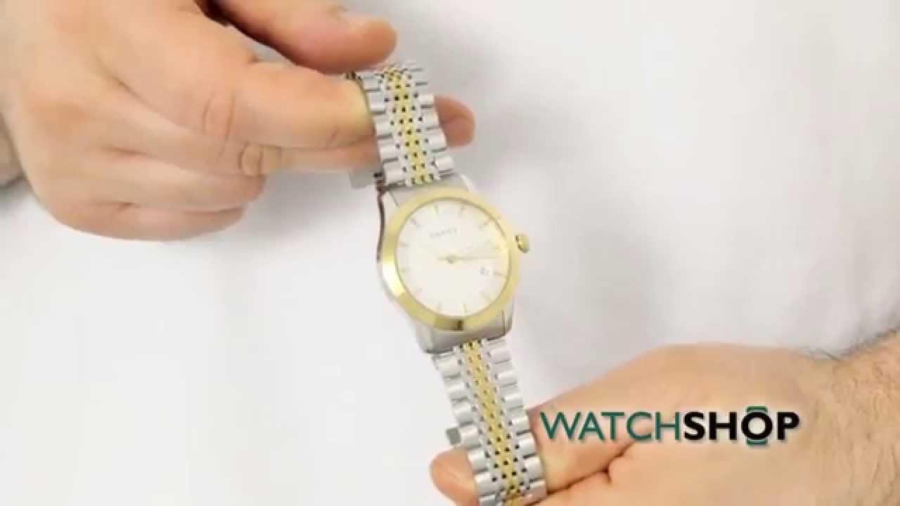 c6ebd6081e6 Gucci Men s G-Timeless Watch (YA126409) - YouTube