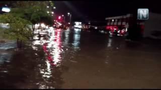 Fuertes lluvias provocan inundaciones y caos en Tepic