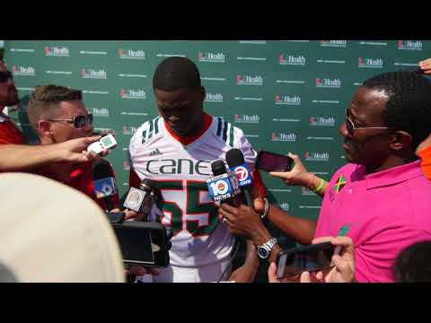 Shaquille Quarterman | Post Practice Interview | 3.20.18