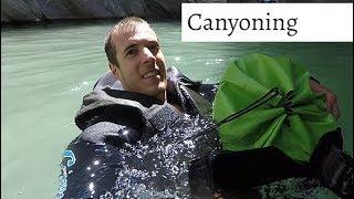Canyoning Massa Schlucht in der Schweiz Abenteuer (4K) Go Pro