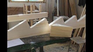 как сделать деревянный косоур
