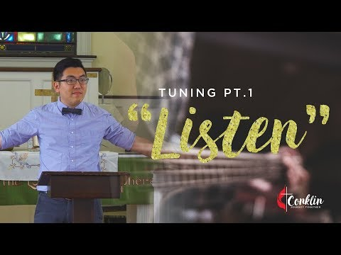 """Listen"" - Sermon by Pastor James Lee (October 8, 2017)"