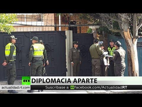 México denuncia a Bolivia ante la Corte Penal Internacional por el asedio a la Embajada