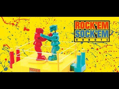 Rock 'Em Sock 'Em Robots Toy Review and Mini Movie