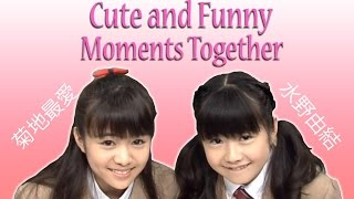 Cute and Funny compilation of Moa kikuchi (Moametal) and Yui Mizuno...