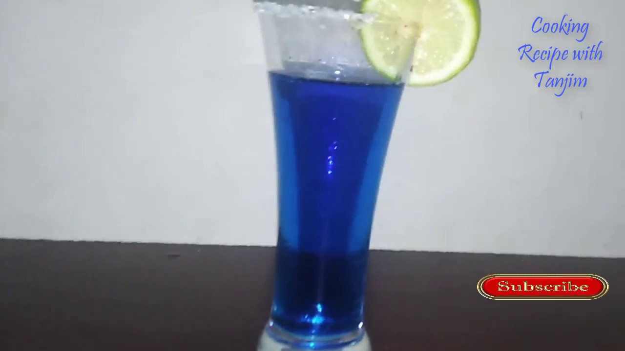 Blue Lagoon Drink Moon Drinks How To Make Deshi