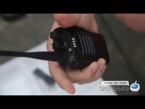 YTTX YT-333 7W 16 Channel 400~520MHz Walkie Talkie -- DX.COM