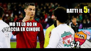 CR7 commenta LIVERPOOL-ROMA 5-2