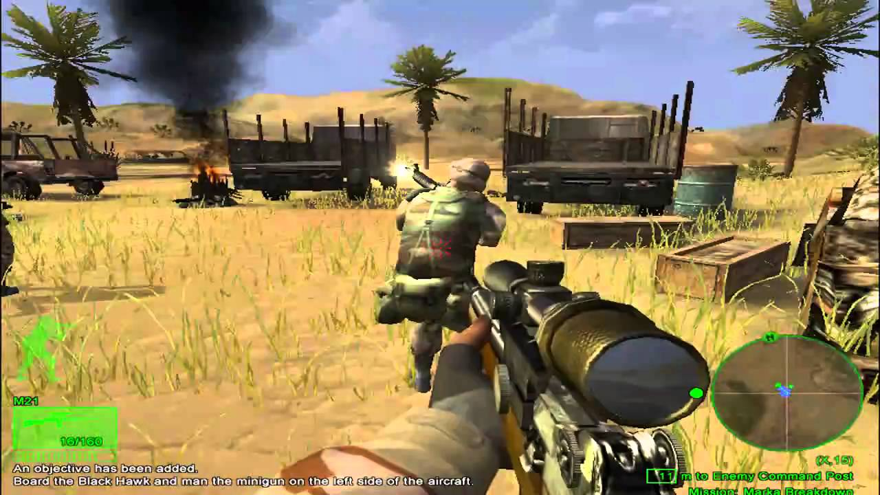 Try Somalia >> Delta Force-Black Hawk Down, Mission 1 - YouTube
