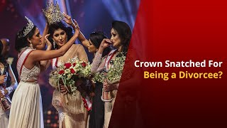 Mrs. Sri Lanka Pageant Winner's Crown Stripped of Her Head | NewsMo