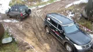 Uaz Patriot,VW Amarok,Nissan Patrol,VW Touareg Оff road
