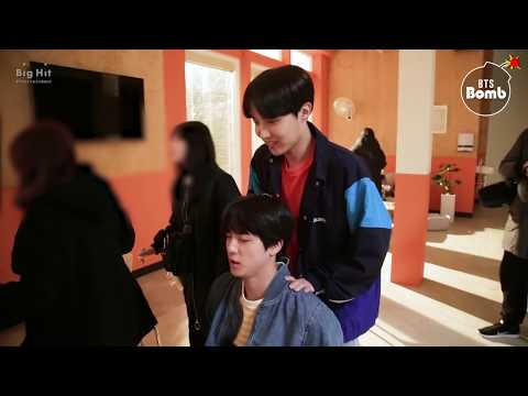 [BANGTAN BOMB] Jin & j-hope Massage Time?! - BTS (방탄소년단)