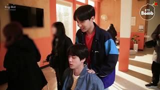 [BANGTAN BOMB] Jin & j-hope Massage Time?! - BTS (방탄소년단)