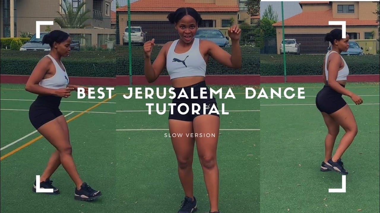 Jerusalema dance tutorial for beginners ||  (Slow Version)