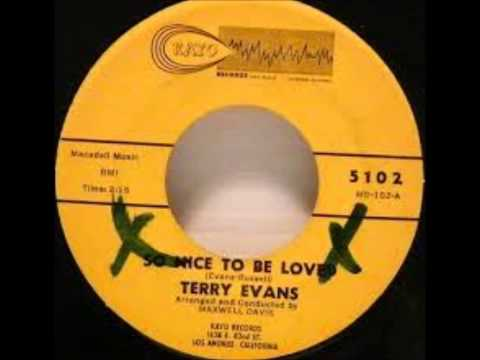 TERRY EVANS & GROUP - JUST CAUSE - KAYO 5102 - 1963