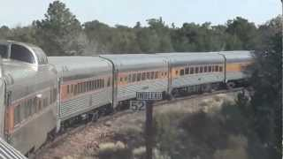 Grand Canyon Railway - Viaje de Williams,Arizona al Gran Cañon