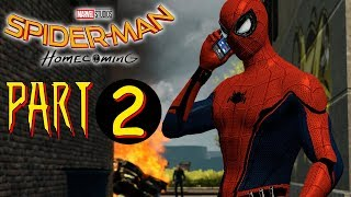 Spider-man Homecoming Main Story - Part 2 - The Amazing Spider-man 2 (PC) MOD