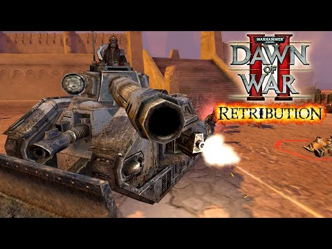 Dawn Of War II: Retribution - March Faction War - Space Marines Vs. Imperial Guard