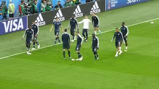 Paul Pogba ● Olivier Giroud ● Blaise Matuidi ● France vs Belgium ● Semi final World Cup Russia 2018