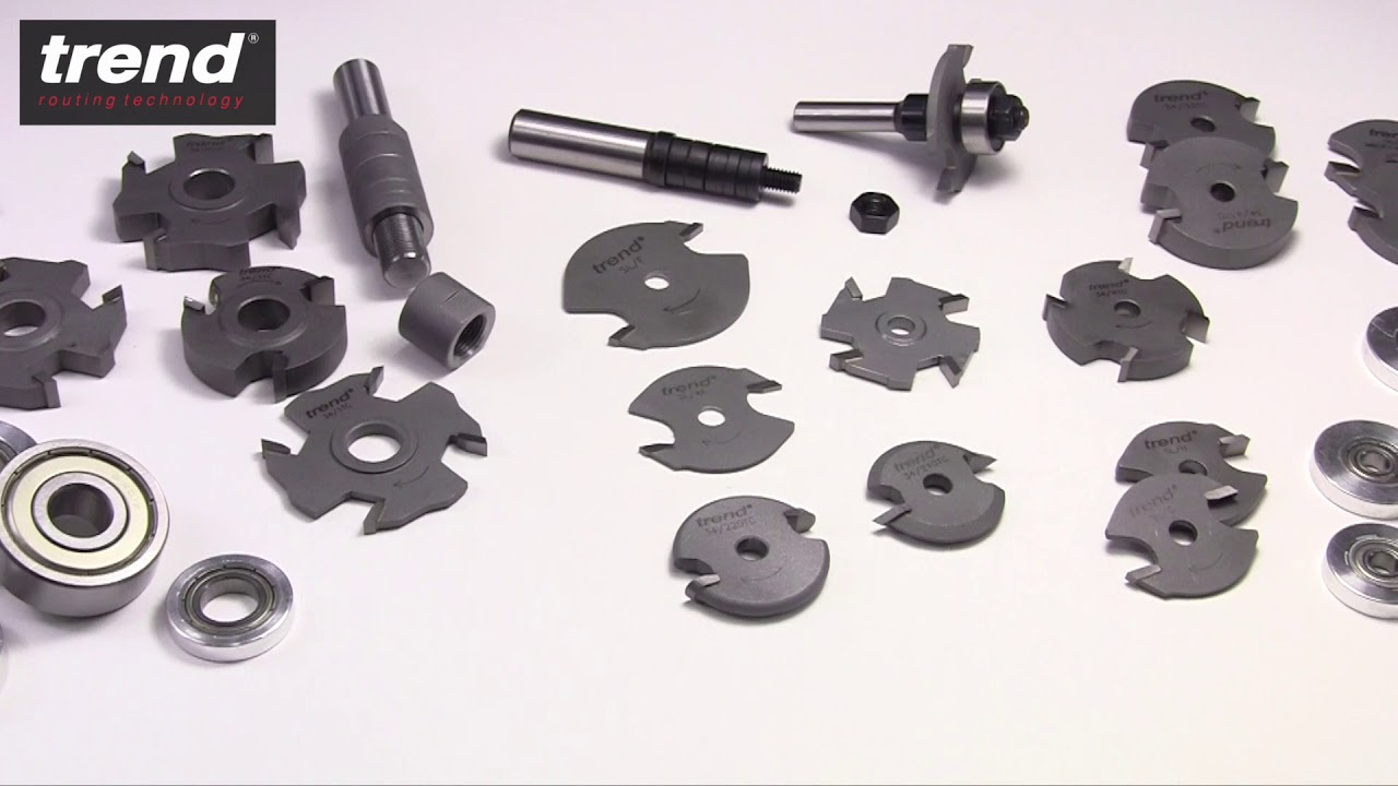 Trend - Guide to Bearing Guided Router Cutters