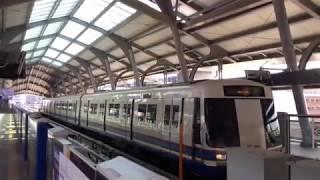2020.1.1(水)10:50 供用開始間もないバンコク地下鉄ブルーラインのバンホー駅