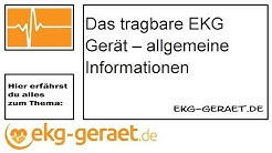 Das tragbare EKG Gerät – allgemeine Informationen