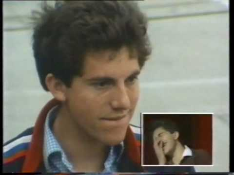 Chris Benham On Game For A Laugh 1985