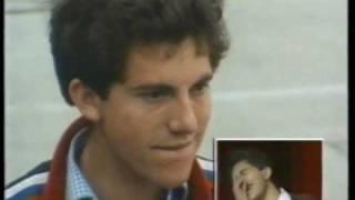 Chris Benham on Game For A Laugh 1985