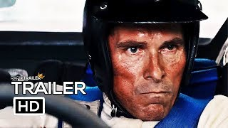 FORD V FERRARI Official Trailer (2019) Christian Bale, Matt Damon Movie HD