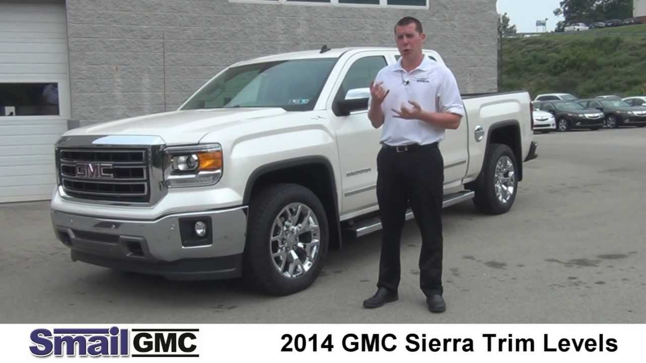 2014 Gmc Sierra Trim Levels Youtube
