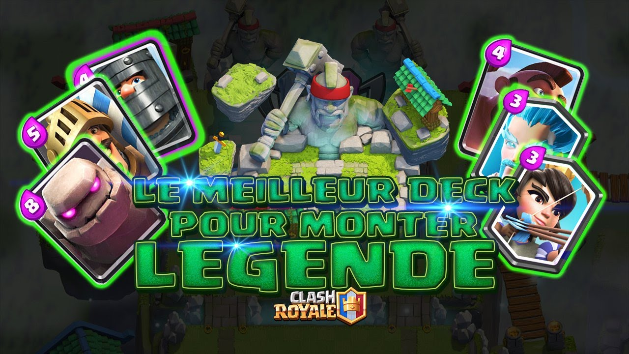 Clash royale fr le meilleur deck pour monter l gende for Clash royale meilleur deck arene 7