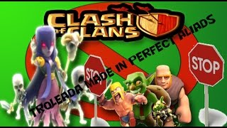 Clash of Clans ||| Troleada con Brujas ||| Clan Perfect Aliads #019