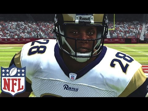 Marshall Faulk Through The Years - Madden 97 - Madden 07 (Playstation  - xbox 360)