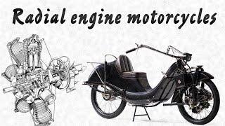 Мотоциклы с радиальными двигателями