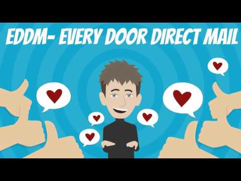Every Door Direct Mail (EDDM) Postcard Printing And Mailing Services
