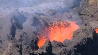 Éruption volcanique du piton de la Fournaise - 21 juin 2014 - Réunion