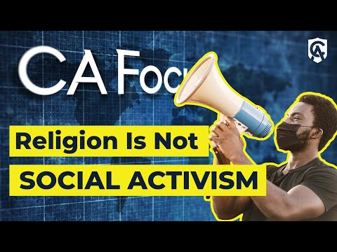 Religion Is Not Social Activism | Fr. Jeffery Kirby | Catholic Answers Focus