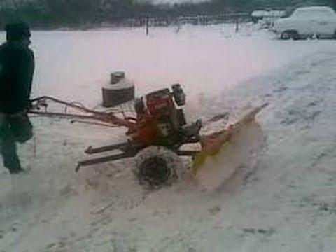 снеговая лопата для мотоблока